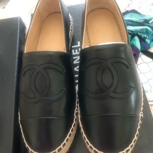 Chanel espadrilles size 37
